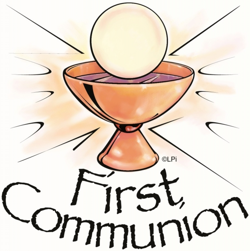 Collection of Holy communion clipart.