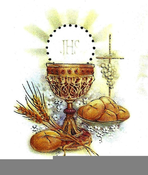 First Holy Communion Free Clipart.