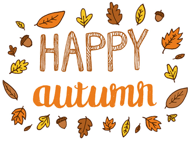 First Day Of Fall Clipart.