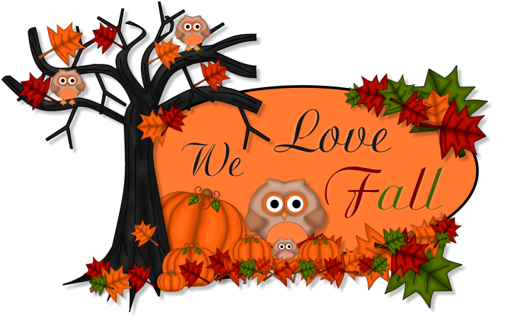 Free calendar clipart first day of autumn.