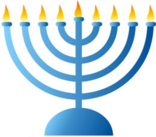 First Day of Hanukkah.