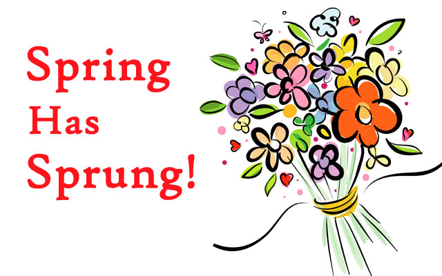 First day of spring 2018 clipart 6 » Clipart Station.