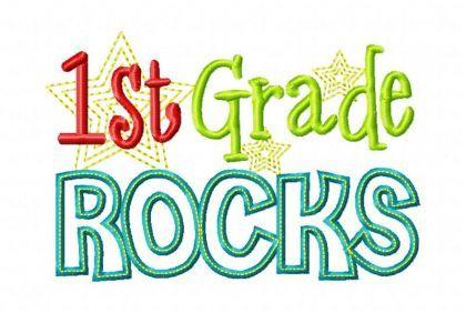 First Grade Rocks.