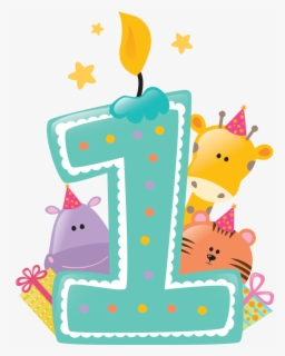 Free 1st Birthday Clip Art with No Background.