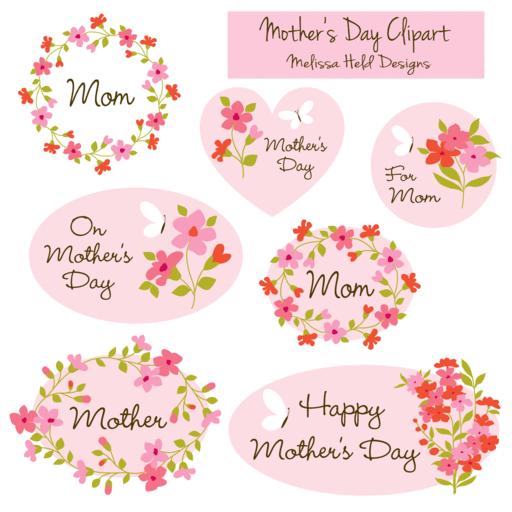 Mother\'s Day Cliparts — mygrafico.