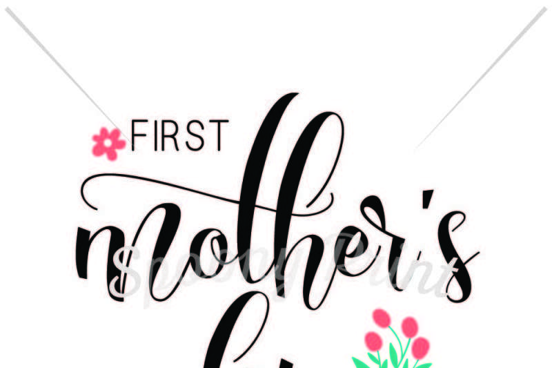 First mother\'s day By spoonyprint.