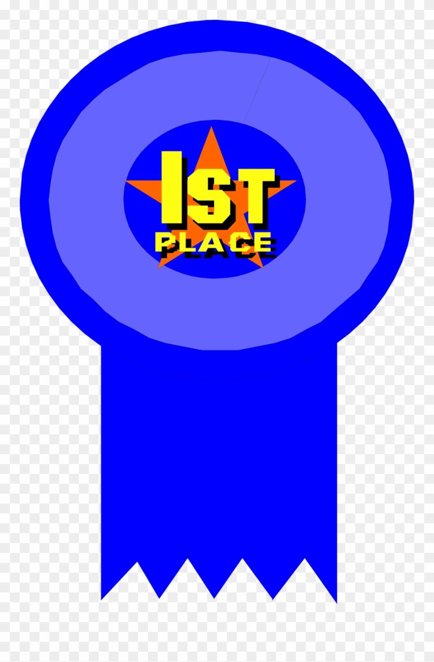 1st Place Award Ribbon Clipart.