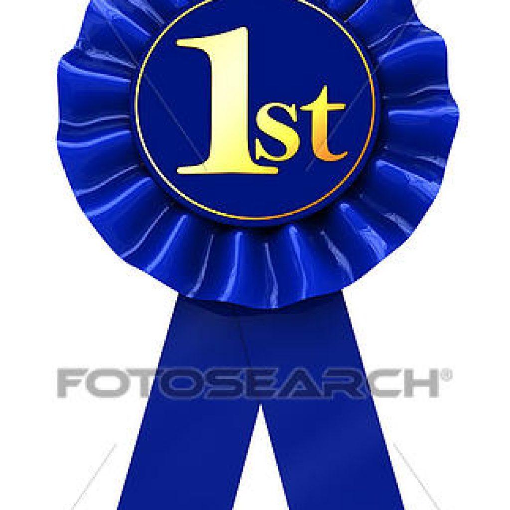 1st Place Clip Art.