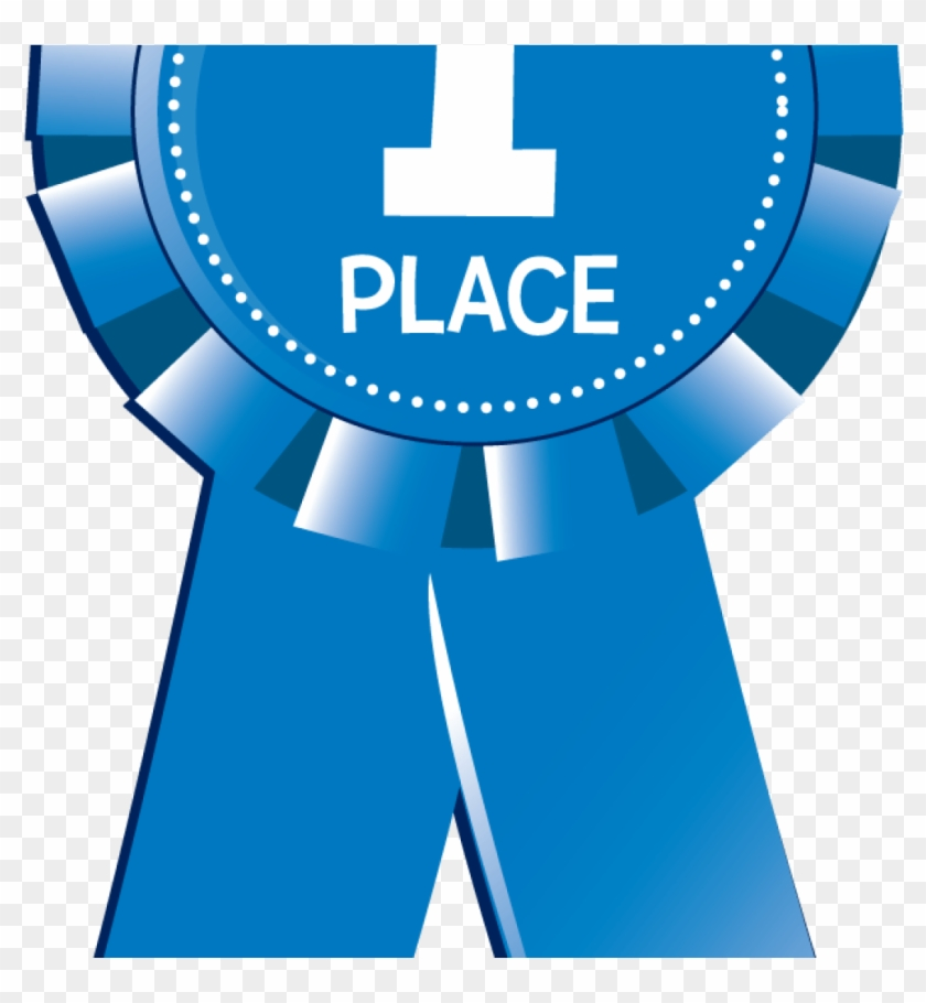 1st Place Blue Ribbon Clipart, HD Png Download.