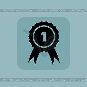 Pale blue 1st place icon.