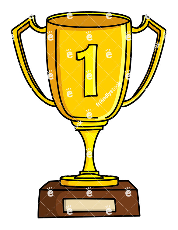 Winner Gold Cup First Place Vector Clipart » Clipart Station.