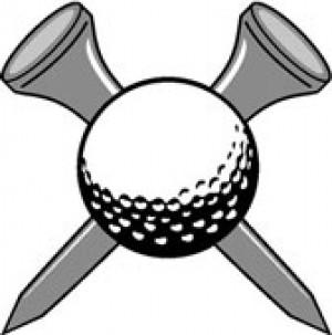 Golf ball clip art 5.