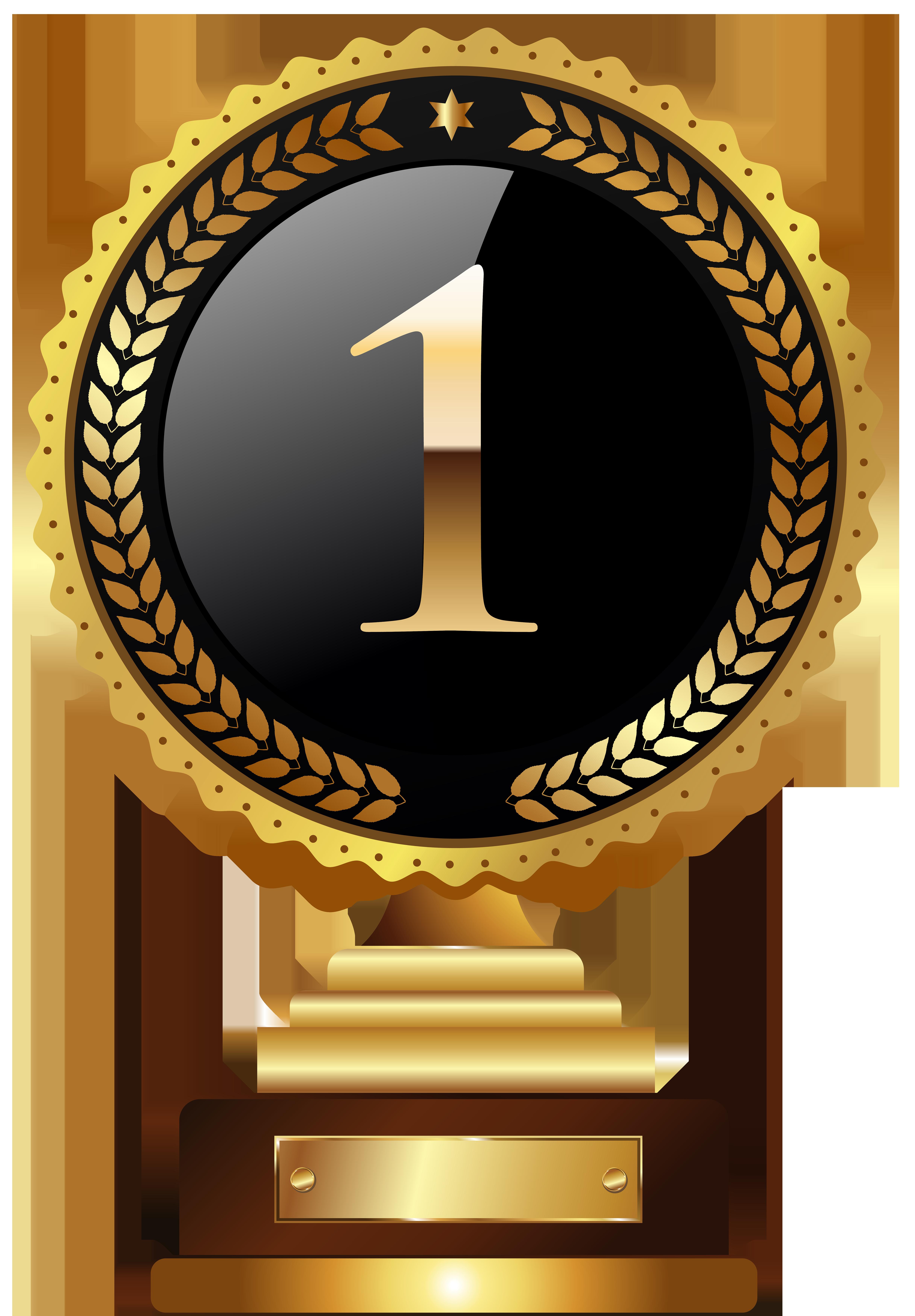 1st Place Trophy Transparent PNG Clip Art Image.