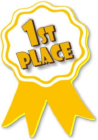 1st Place Trophy Clipart.