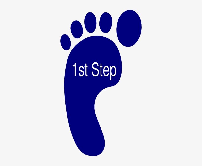 First Clipart First Step.
