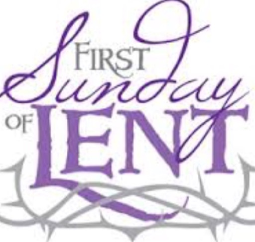March 5, 2017: First Sunday of Lent.