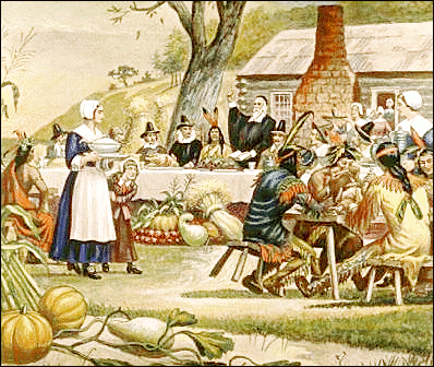 Free First Thanksgiving Clipart.