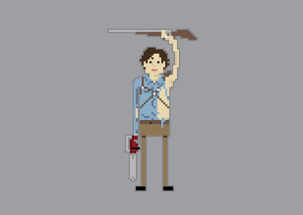 Michael Campbell / Projects / Pixel Heroes.