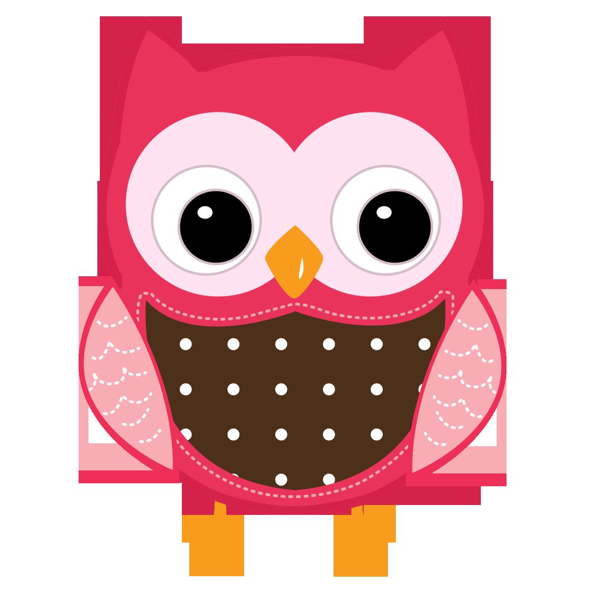 Cute Cartoon Owls.