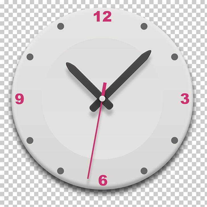 Clock face Digital clock Alarm clock , Round the clock.