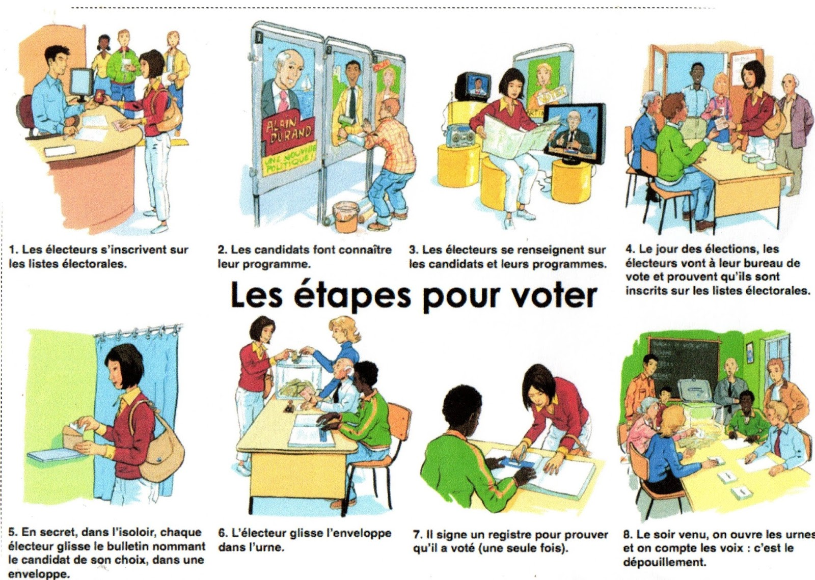 Bureau de vote clipart 6 » Clipart Station.
