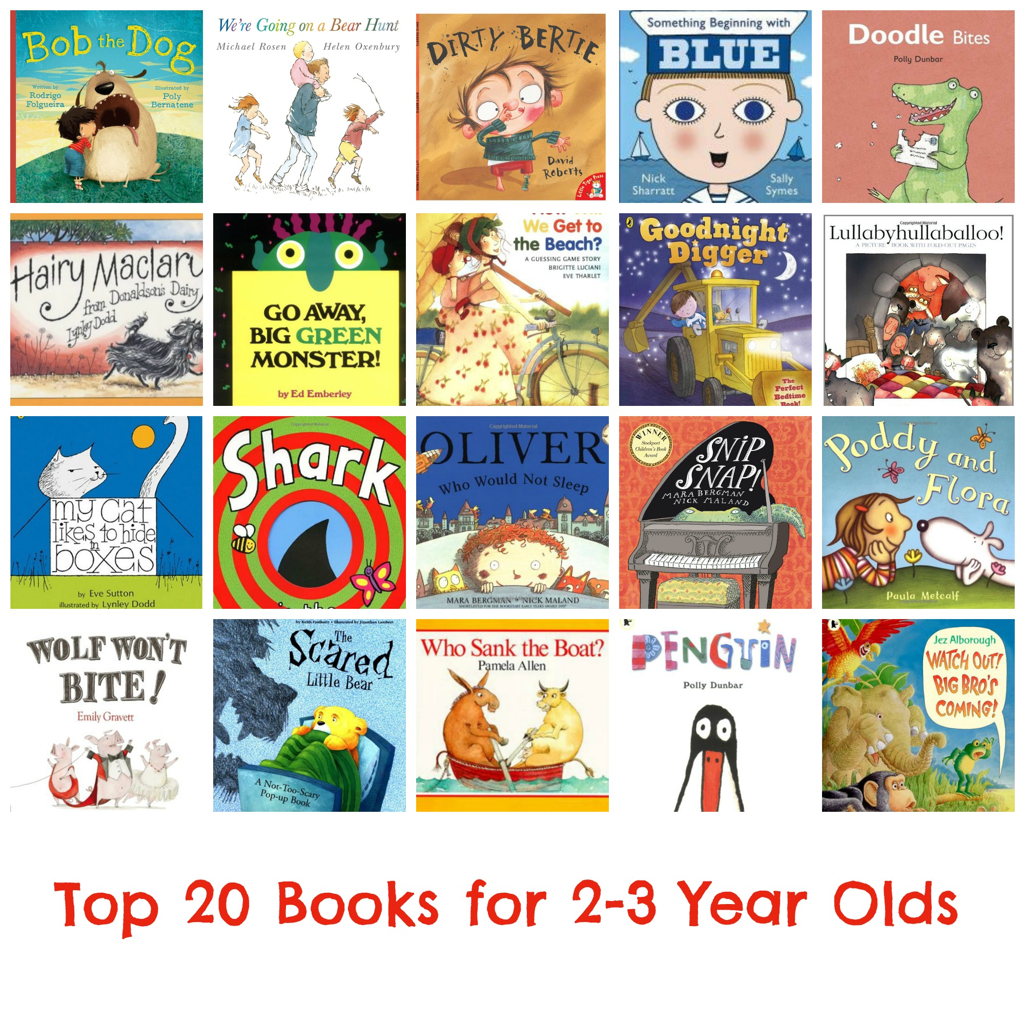 Top 20 Books for 2.