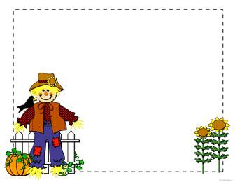 Scarecrow clipart scarecrow clip art image 2.