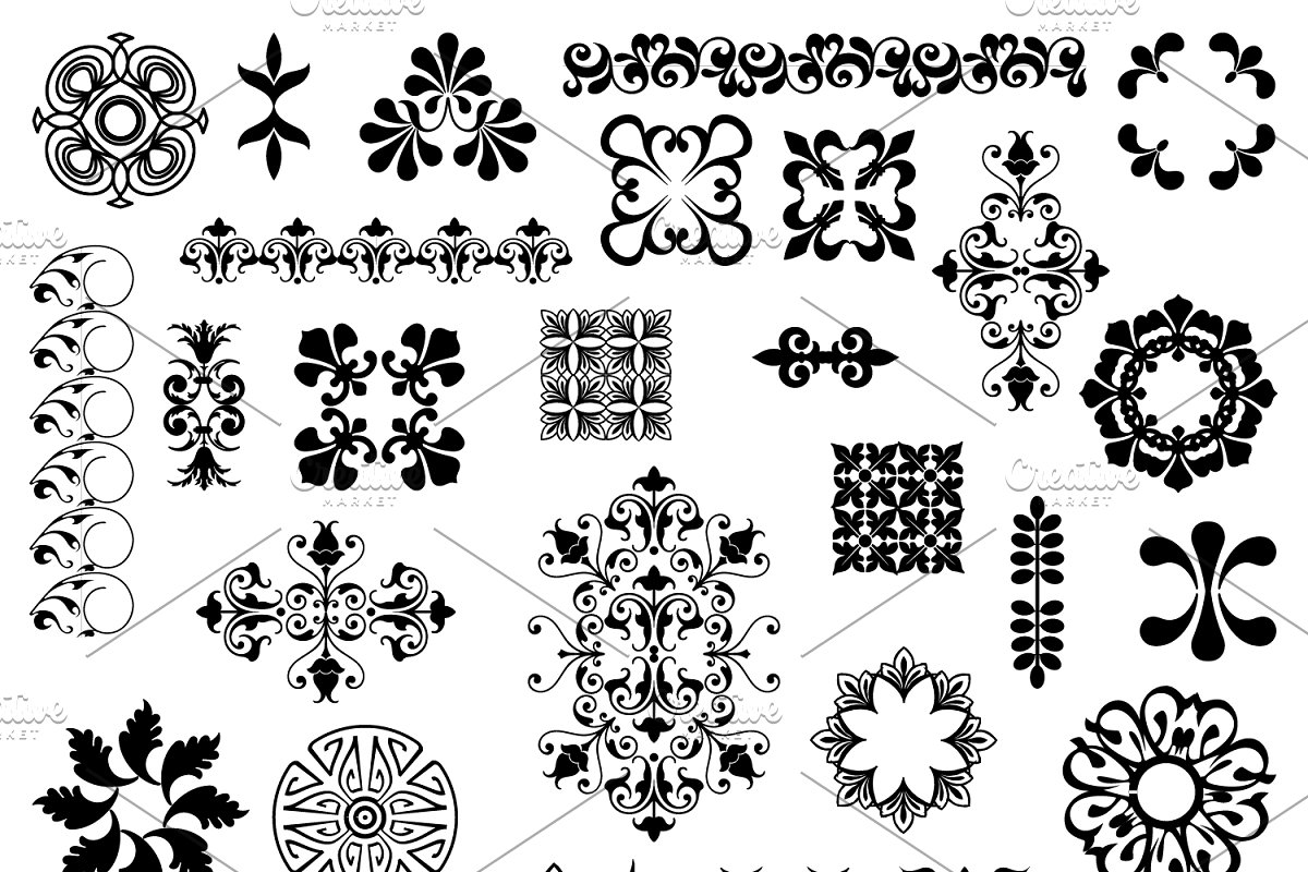 Design Elements 2 Vectors/Clipart.