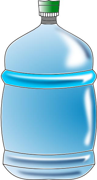 Gallon Of Water Clipart.