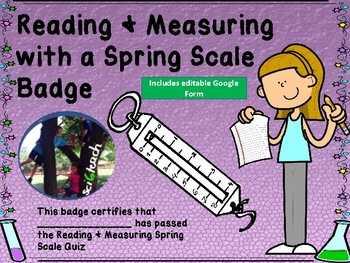 Spring Scale Worksheets & Teaching Resources.