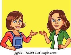 Sisters Clip Art.
