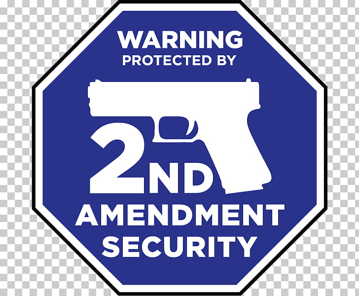 Second Amendment to the United States Constitution Decal.