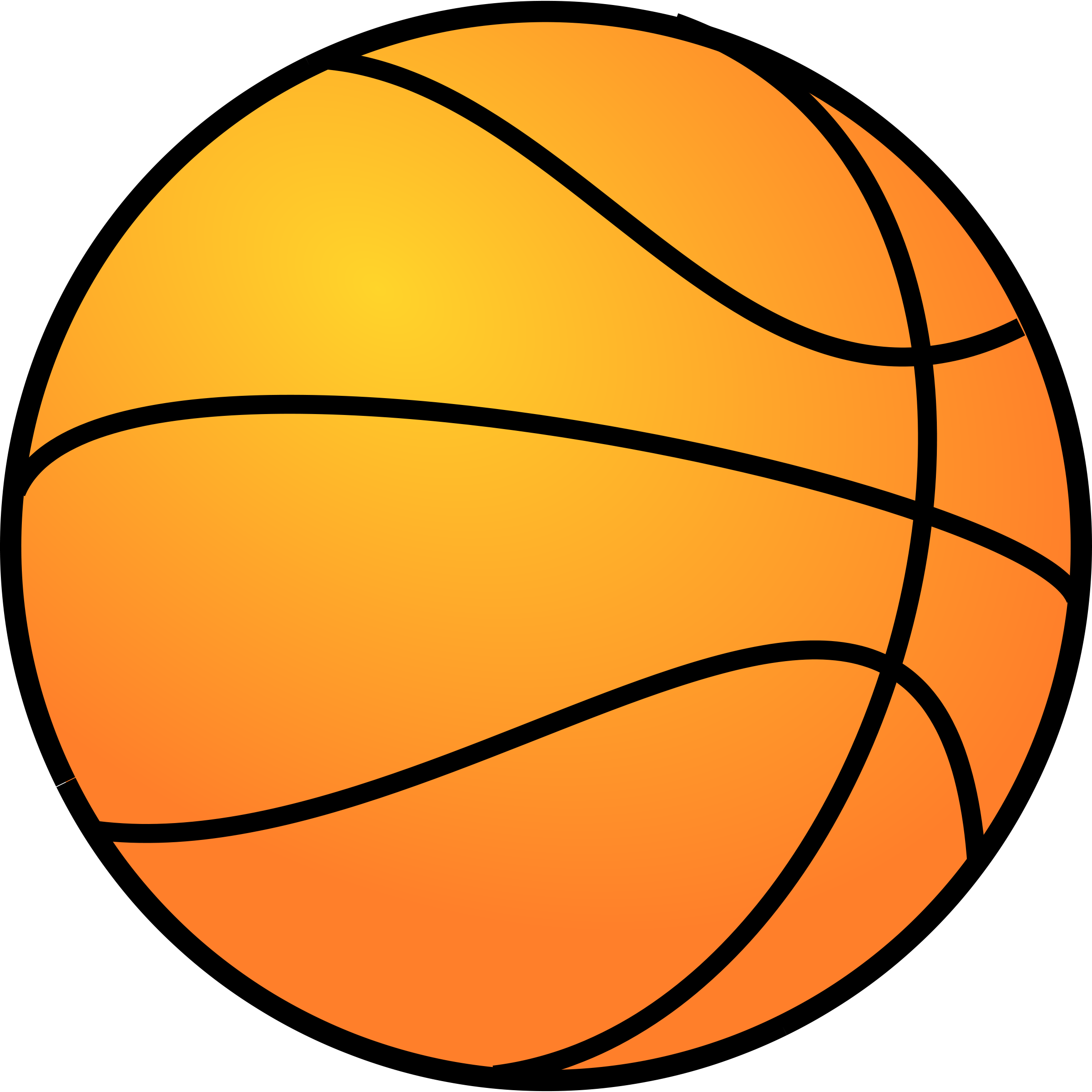 Basketball clipart free clipart image 2.