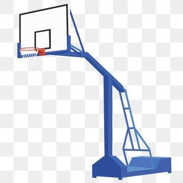 2019 的 Simple Basketball Hoop Frame Side Blue Can Be.