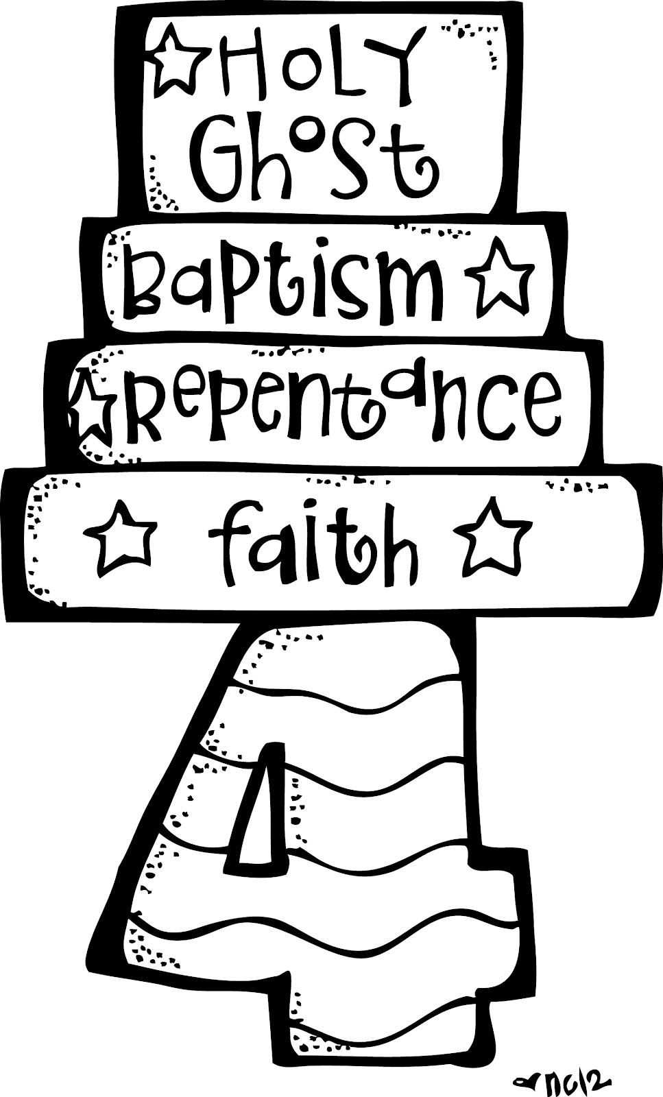 Article of faith clipart.