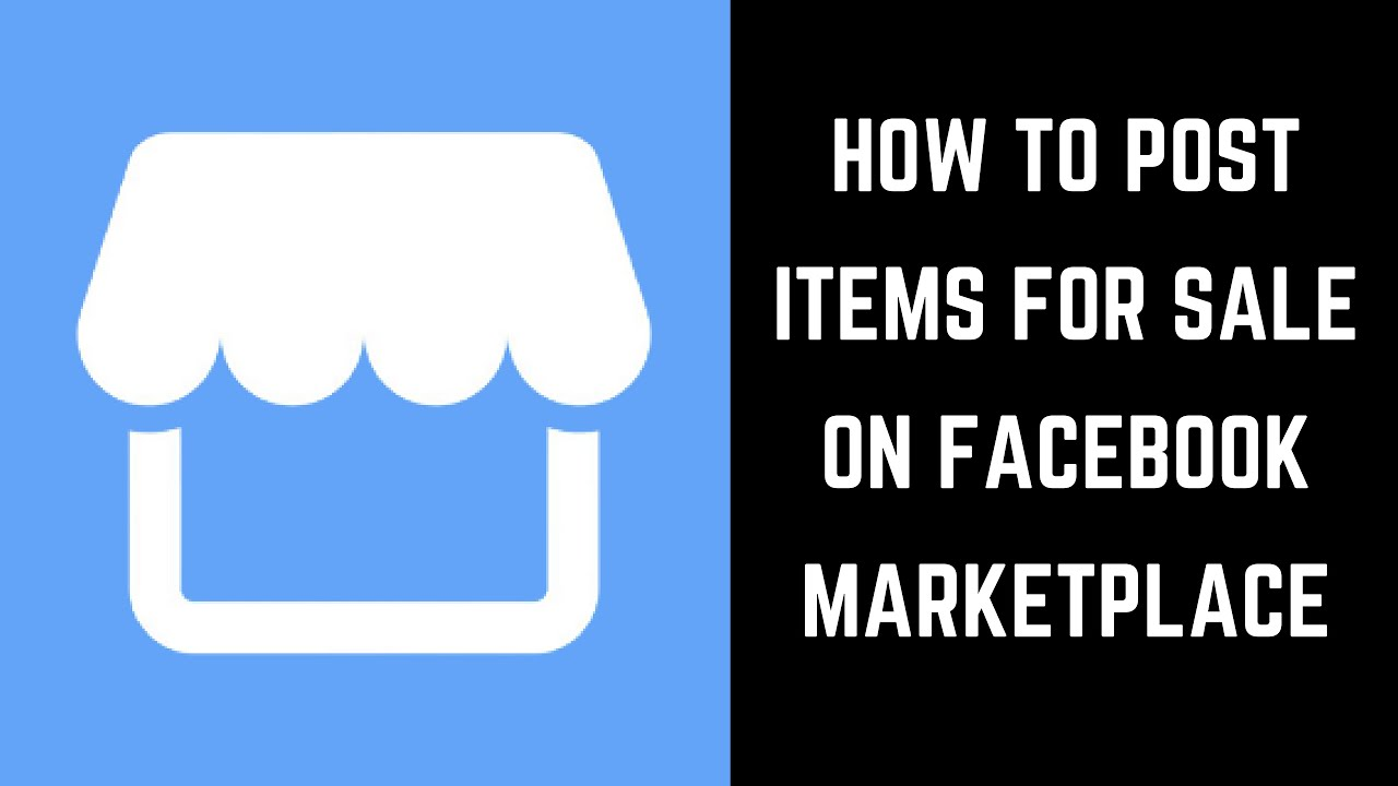 How to Post Items for Sale in Facebook Marketplace.