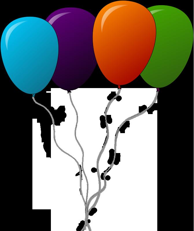 Balloon free to use clip art 2.
