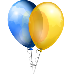Two Balloons Clip Art at Clker.com.