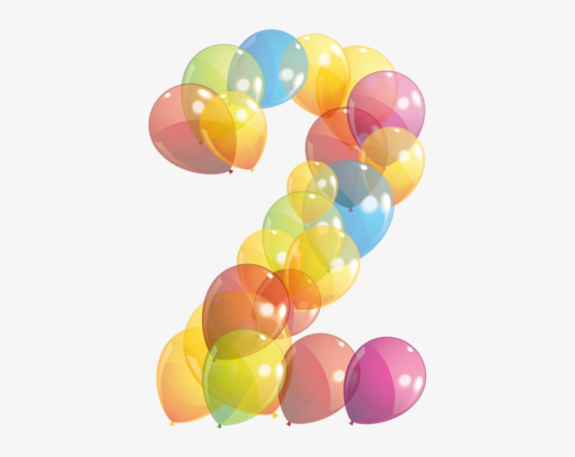 Birthday Clips, Number Balloons, Clipart Images, Letter.