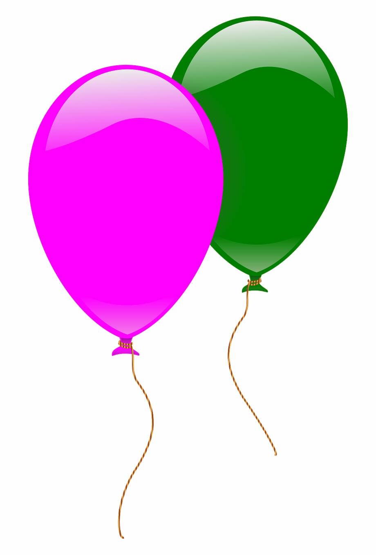 Balloons Pink Green Flying Png Image 2 Balloons.