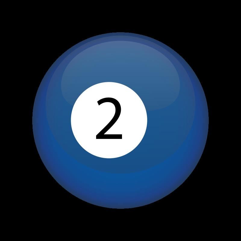 Free Clipart: 2 Ball.