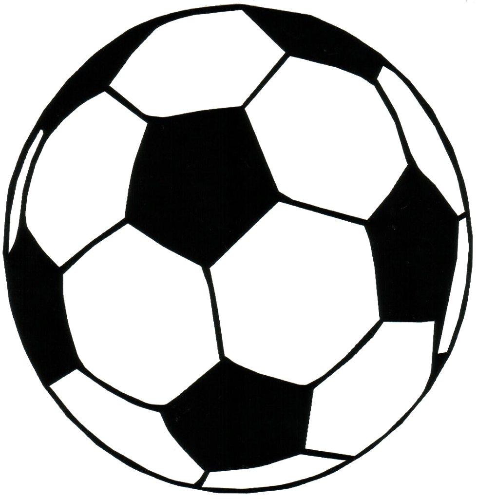 Transparent soccer ball clipart 2.