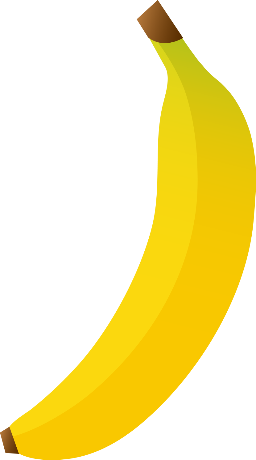 Free bananas clipart graphics images and photos 2.
