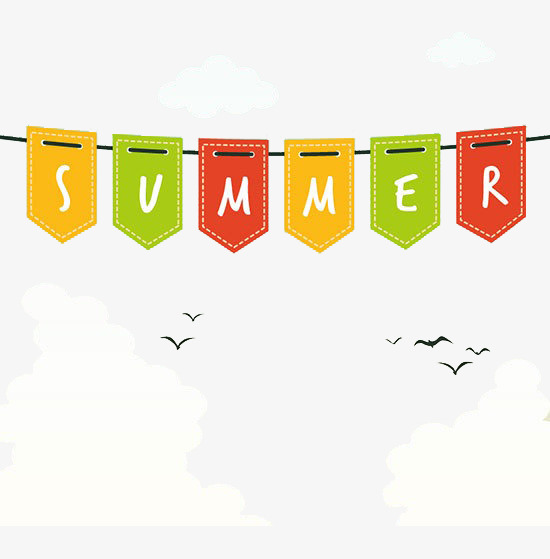 Summer banners clipart 2 » Clipart Station.