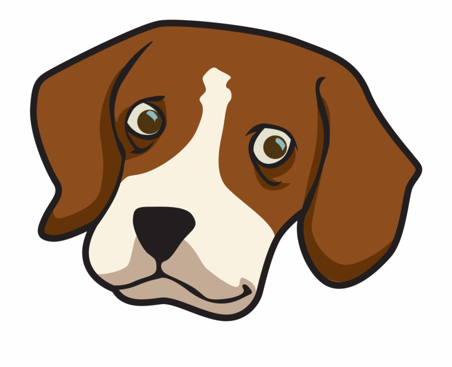 Dog Face Transparent Clipart Beagle Dog Face.