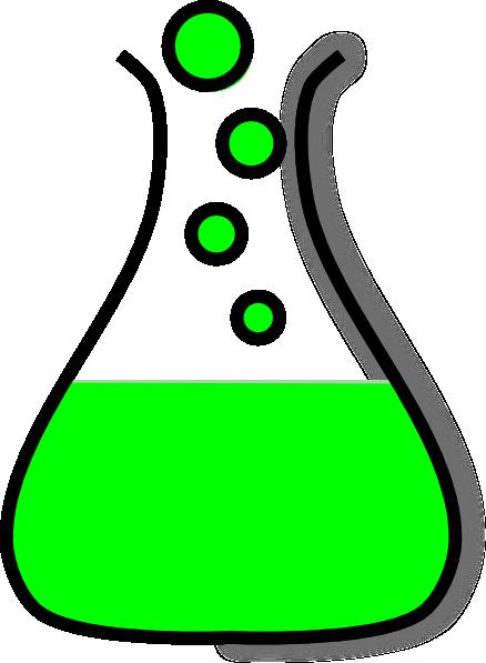 Bubbling Beaker Clipart.