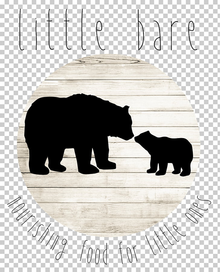 American black bear Grizzly bear Silhouette Child, bear PNG.