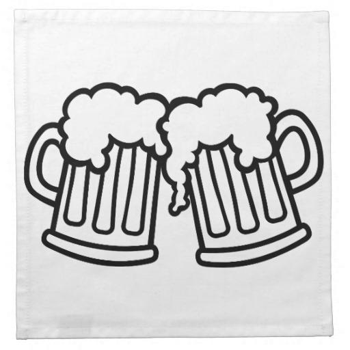 Beer mug mug of beer clipart 2.