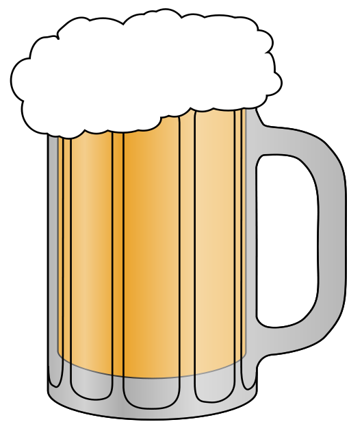 Beer free to use clip art 2.