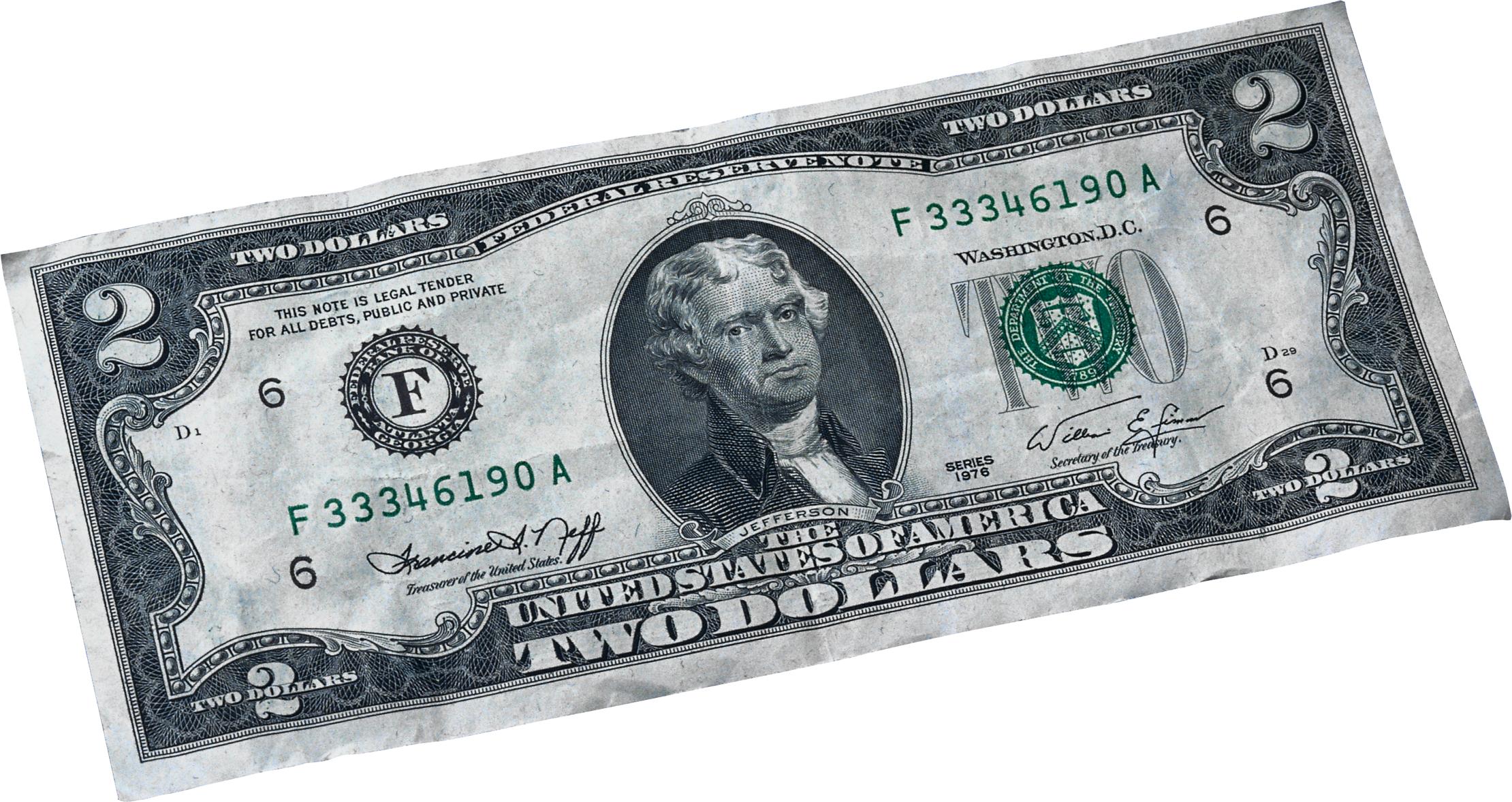 Money United States Dollar United States two.
